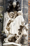 Detail of the Marktkirche, Hannover, Germany Stock Photos