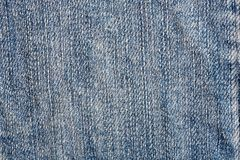 Detail of material jeans Royalty Free Stock Photo