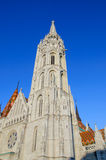 Detail from Matthias Church Royalty Free Stock Image