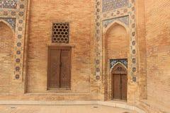 Detail of Mausoleum of Timur Lenk, samarkand, uzebkistan Royalty Free Stock Images