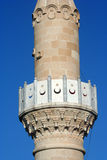 Detail of medeival minaret Stock Photos