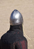 Detail of medieval armour Stock Image
