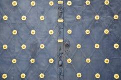 Detail of medieval doors Stock Photos