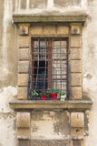 Detail of medieval window Royalty Free Stock Photography
