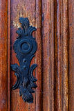 Detail of a medieval wooden door 4 Royalty Free Stock Images