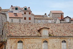 Detail of mediterranean architecture Stock Photography