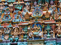 Detail, Menakshi Temple Madurai Royalty Free Stock Image