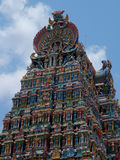 Detail, Menakshi Temple Madurai stock images