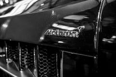 Detail of the Mercedes-Benz SLR McLaren. Stock Photos