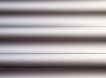 Detail of metallic cladding Royalty Free Stock Photography