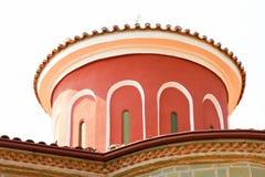Detail of Meteora Clifftop Monasteries Royalty Free Stock Photo