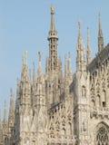 Detail of Milan cathedral Stock Photo