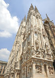 Detail of the Milan Cathedral Royalty Free Stock Photo