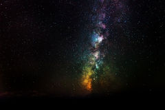 Detail of the Milky Way Royalty Free Stock Photography