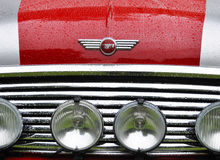 Detail of a Mini Cooper Stock Photography