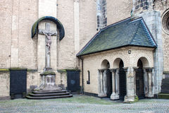 Detail of Minster in Bonn Royalty Free Stock Image
