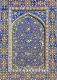 Detail of Mir-i-Arab Madrasa in Bukhara Buxoro, Uzbekistan Royalty Free Stock Image