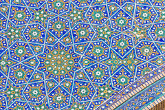 Detail of Mir-i-Arab Madrasa in Bukhara Buxoro, Uzbekistan Royalty Free Stock Photography