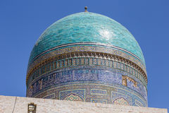 Detail of Mir-i-Arab Madrasa in Bukhara Buxoro, Uzbekistan Royalty Free Stock Photos