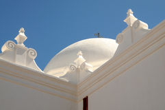Detail of Mission San Xavier del Bac Royalty Free Stock Photos