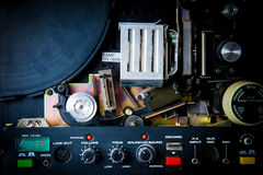 Detail of 8mm projector Stock Photos