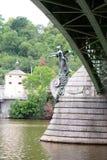 Detail. Mánes Bridge. Prague. Czech Republic Royalty Free Stock Images