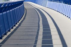 Detail of moder bridge in Slovakia Royalty Free Stock Photography