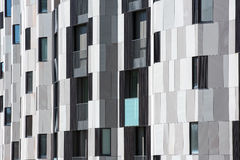Detail of modern apartment exterior Stock Image