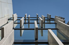 Detail of modern architecture Stock Photos