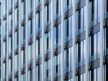 Detail of modern architecture. Modern architecture building with glass wall stock image