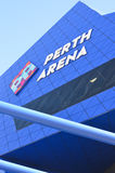 Detail Modern architecture Perth Arena Stock Image