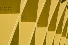 Detail of modern architecture from vienna royalty free stock photo