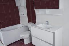 Detail of Modern bathroom Royalty Free Stock Image