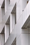 Detail of modern building. Part detail of a modern building, geometry, line, block and third dimension Stock Photo