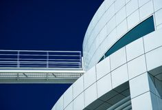 Detail of modern building Royalty Free Stock Images