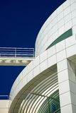 Detail of modern building. Detail of modern architecture building with copy space on the left Royalty Free Stock Photos