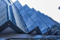 Detail of modern building exterior and reflection Stock Photos