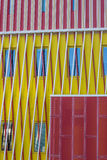 Detail of a modern building of the Groningen university Royalty Free Stock Images