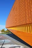 Detail of a modern building in Lelystadt, Holland Stock Images