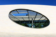 Detail of a modern building at Lisbon Royalty Free Stock Photos