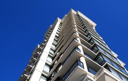 Detail of modern building in Vancouver Royalty Free Stock Photography