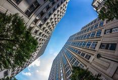Detail of Modern Buildings In Berlin, Germany. Summer Stock Image