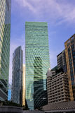 Detail of Modern Buildings. Business Concept Stock Image