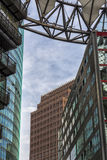 Detail of Modern Buildings. Citylife Stock Photos