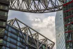 Detail of Modern Buildings. Citylife Stock Images