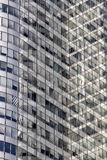 Detail of Modern Buildings in Paris. Business Concept Royalty Free Stock Images