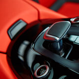 Detail of modern car interior, gear stick Stock Photos