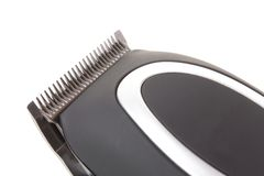 Detail of a modern electric hair / beard Royalty Free Stock Images