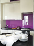Detail of modern kitchen Royalty Free Stock Photography