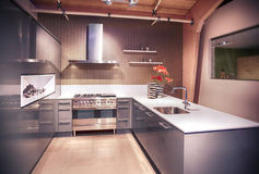 Detail of modern kitchen Stock Photos